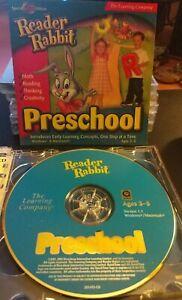 Reader Rabbit - Preschool (Math, Reading, Thinking, Creativity) 2-Disc