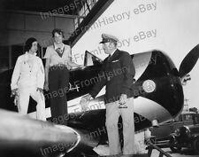 8x10 Print Amelia Earhart Pilot Laura Ingalls Roscoe Turner 1935 #AE50