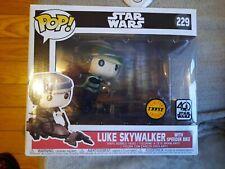 Luke Skywalker with speeder bike pop figure #229