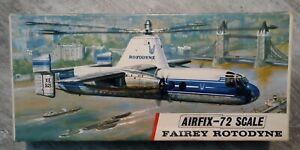 1/72nd scale Airfix Fairey Rotodyne Series 4 / Red Stripe box
