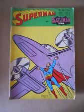 Superman e Batman Robin n°10 1969 Sagedition en francais [G756] BUONO