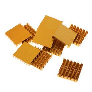 1 Set 20pcs Copper Heatsink Kit for IC Circuit Board,Mos Tube,Triode