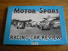MOTOR SPORT RACING CAR REVIEW 1953 MOTOR RACING BOOK