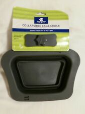New listing Top Paw Collapsible Cage Crock 20 Oz.Bowl/ Feeder