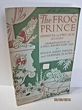 The Frog Prince: Operetta In Two Acts Unison by Evalyn Gares Parker