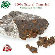 100% Pure Natural healthy and dietary Sun Dried Tamarind (Without Seeds) 100g