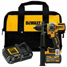 New DeWalt Dcd999T1 20V Max Bl Li-Ion 1/2 in. Hammer Drill Driver Kit 6 Ah