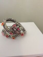 """$125 Betsey Johnson Jewelry """"Memoirs of Betsey"""" Pave Dragon BJL-38A"""