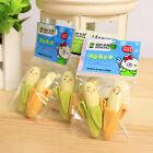 Creative 2Pcs Banana Pencil Eraser Rubber Kids Student Office Stationery