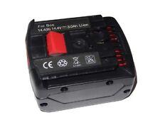 Premium AKKU 14.4V 3000mAh für BOSCH GDR 14.4 V-LI MF, GDR 14.4 V-LIN