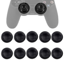 10x For PS4 PS3 Xbox One Wii U Thumb Stick Grips Black Analog Silicone Cap Cover