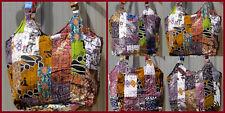 Tolle Handtasche Muster Schultertasche Strand Bali bunt Hippie Damen Unikat NEU!