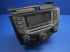 2006 HONDA ACCORD RADIO 6 DISC CD PLAYER CLIMATE CONTROL 39175-SDA-L120-M2 ,C4