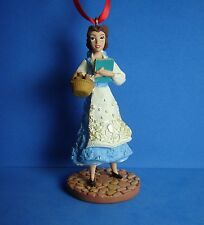 Disney Sketchbook Ornament Belle Blue Dress Beauty and the Beast LE 1200 NEW