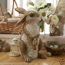 Easter Spring Bunny Rabbit Garden Statue Garden Lawn Yard Decor Outdoor indoor