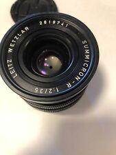 Summicron R 2/35mm  for Leica R