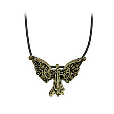 The Mortal Instruments City of Bones Necklace Tessa's Clockwork Angel Pendant