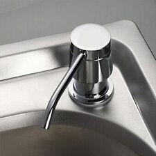 Kitchen Bathroom Sink Liquid Soap Lotion Holder Bottle 300ML Dispenser Kit