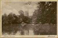 2539: Ansichtskarte Postkarte Kloster Loccum Brauteich 1932