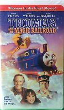 Thomas & the Magic Railroad VHS Peter Fonda Mara Wilson Alec Baldwin 2000