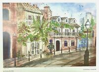 """Rue TouLouse"" New Orleans LA, By Lucretia Restrepo Signed & Numbered"