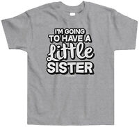 Threadrock Kids I'm Going To Have A Little Sister Toddler T-shirt Cute Sis