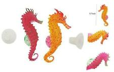 New listing Aquarium Ornament Glowing Floating Effect Artificial Decoration Sea Horse for F