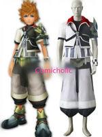 Kingdom Hearts Ventus Black And White Uniform Halloween Game Cosplay Costume