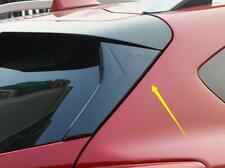 Carbon Rear Window Strip Protection Trim ABS For 2018 2020 Subaru XV Crosstrek