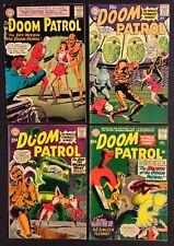 DOOM PATROL #90 91 96 98 Comics SILVER AGE 1964 DC 12 Cent ROBOTMAN Elasti-girl