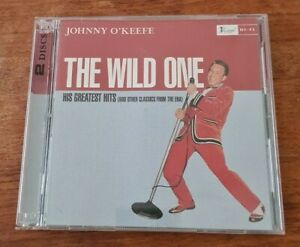 JOHNNY O'KEEFE-THE WILD ONE HIS GREATEST HITS AND OTHER CLASSICS-2 CD SET-2001