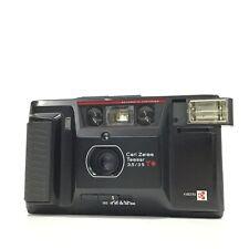 Yashica T AF-D schwarz Carl Zeiss Tessar T * Point & Shoot Filmkamera-gut