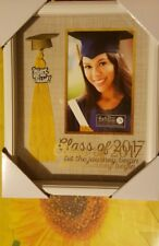 New View Gifts And Accessories 2017 Graduation picture photo frame in WHITE 4x6