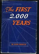 B0007EQCQU The First 2000 Years