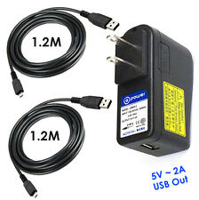 2 Amp 2A Quick Charger for Anker Portable Battery / EZO Portable Battery / Zagg