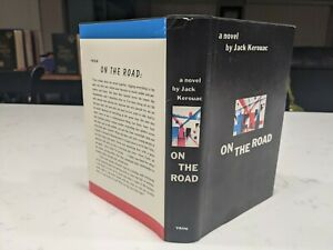 FIRST EDITION LIBRARY JACK KEROUAC ON THE ROAD HB DJ
