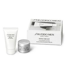 "Shiseido Men ""Skin Care Kit"" Cleansing Foam & Total Revitalizer Trial / Travel"