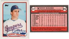 KENNY ROGERS RC-1989 TOPPS TRADED # 104T-TEXAS RANGERS PITCHER-MINT CONDITION