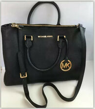 Genuine Women's Michael Kors Kellen Saffiano Leather Satchel  handbag. Used.