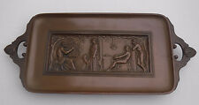 ANTIQUE French Bronze TRAY F. Levillain Barbedienne Paris France GREEK REVIVAL