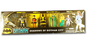 Batman Animated Series Shadows of Gotham Robin Talia Ra's Al Ghul Figures