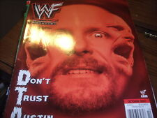 WWF Magazine Oct 2001 Steve Austin  25EL