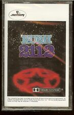RUSH 2112 Temples of Syrinx Discovery Twilight Zone Lessons Tears  NEW CASSETTE