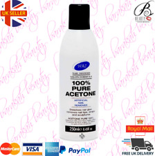HAZ 100% Pure Acetone Nail Polish Remover 250ml