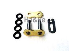 * RK Kettenschloss Clipschloss GB 525 KRX gold/black