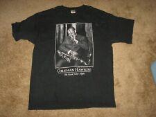 New listing Coleman Hawkins The Hawk Takes Flight T-Shirt Xl Jazz Rare