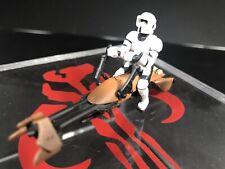 Speeder Bike (Scout Trooper) Titanium Series STAR WARS Die-Cast Saga 2005 Endor