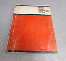 Case 35 Backhoe & Loader 580CK B Tractor Parts Catalog Manual 1151 1971
