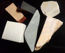New listing Japanese Natural Whetstone Mikawa Shiro,Tsushima, Hideriyama Suita Nagura1076g