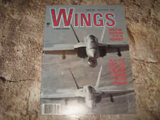 VINTAGE MAGAZINE WINGS BY SENTRY AUG 1984 F/A-18 HORNET BEST OF THE BEST?